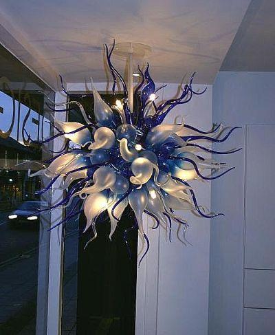 Artistic Light Fixtures hand blown artistic glass lighting